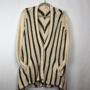 FREE PEOPLE SNAP FRONT CARDIGAN